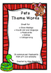 PETS   theme topic words WORD WALL vocabulary flash cards