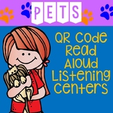 Pets QR Code Read Aloud Listening Centers