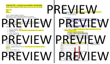 PGP Element 39 Innovative Evaluation