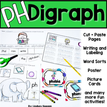 PH Digraph - Beginning, Middle and Ending Sounds