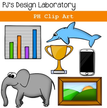 PH Digraph Clip Art