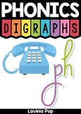 Digraph PH: Phonics Word Work {Multiple Phonograms}