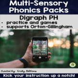 PH Digraph Word Work Activities Multisensory Phonics Orton-Gillingham