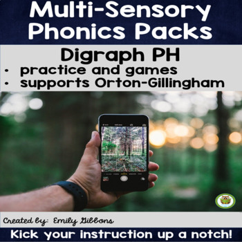 PH Digraph Word Work Activities Multisensory Phonics Orton-Gillingham