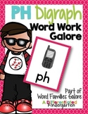 PH Digraph Word Work Galore-Differentiated and Aligned