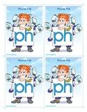 PH (Phone Phil) Word Buddy Card