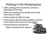 PH Renaissance Presentation