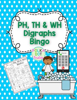 PH, TH & WH Digraphs BINGO