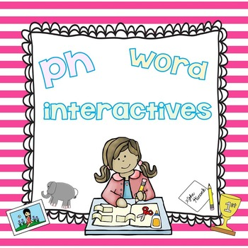 PH Word Interactives in Black and White