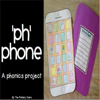 PH Word Work Craftivity - A Phonics Project
