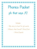 PH that sounds like /f/ Phonics Packet