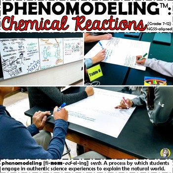 PHENOMODELING™ - Constructing a Model for Chemical Reactions