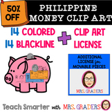 PHILIPPINE MONEY CLIPART and ADDITIONAL LICENSE FOR MOVABL