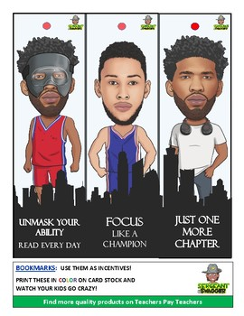 PHILLY - HOT BOOKMARKS