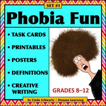 PHOBIA BUNDLE • VOCABULARY • End-of-Year FUN!