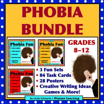 PHOBIA BUNDLE • VOCABULARY • BACK-TO-SCHOOL FUN!