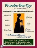 PHOEBE the SPY Novel Study