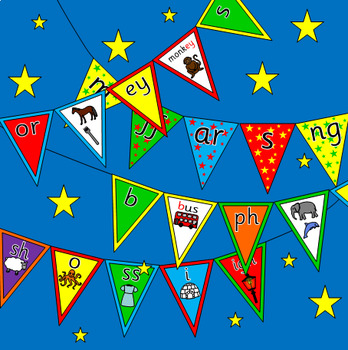 PHONEME BUNTING- Letters and Sounds Phonics