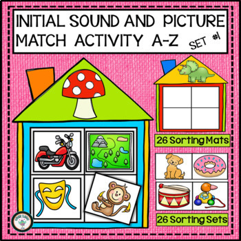 PHONEMIC AWARENESS INITIAL SOUND MATCHING FOR EMERGENT READERS