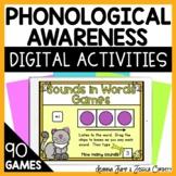 PHONOLOGICAL AWARENESS  DIGITAL ACTIVITIES HUGE DISCOUNT!!