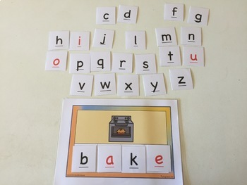 PHONEMIC AWARENESS - PICTURES for Letter Tiles - CVCe - Magic e - 124 Pictures