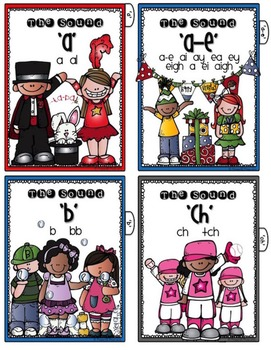 PHONEMIC STUDENT CARDS {with tabs}