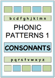 PHONIC PATTERNS 1  - CONSONANTS Exercises 1 and 2