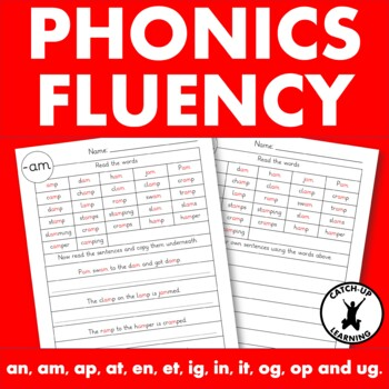{Dyslexia interventions} {phonics fluency passages} {Fluency worksheets}