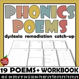 Phonics Poems Workbook 2 Long vowels sounds vowel teams digraphs RTI