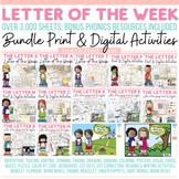 PHONICS 1: PHONEMIC AWARENESS -ALPHABET LETTERS-USA MEGA BUNDLE