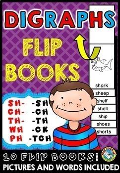 PHONICS ACTIVITIES GRADE 1, KINDERGARTEN WORD WORK (FLUENCY FLIP BOOKS BUNDLE)