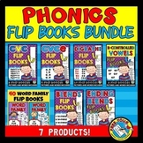 PHONICS ACTIVITIES (FLUENCY FLIP BOOKS BUNDLE)
