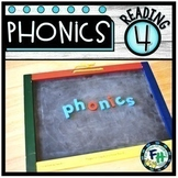 PHONICS 4 Reading Curriculum BUNDLE