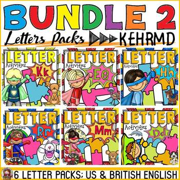 PHONICS: PHONEMIC AWARENESS BUNDLE 2: LETTERS {KEHRMD}