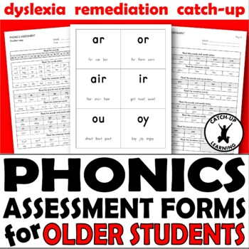 PHONICS READING ASSESSMENT FORM TESTING
