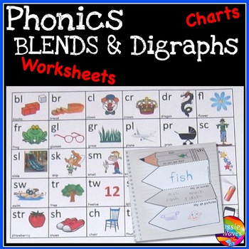 PHONICS Anchor Charts and Activities BLENDS and DIGRAPHS