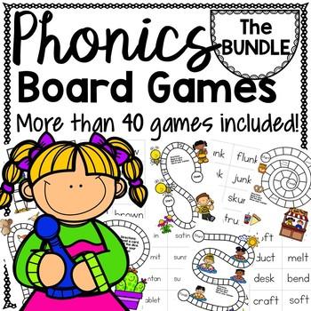 PHONICS BOARD Games {PRE-SALE}