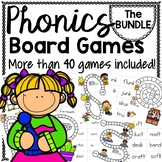 PHONICS BOARD Games for any CORE reading program!