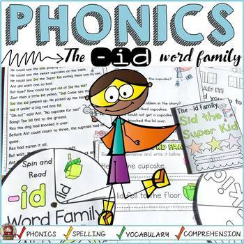 PHONICS: CVC SHORT VOWEL I: THE -ID WORD FAMILY:
