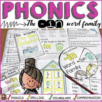 PHONICS: CVC SHORT VOWEL I: THE -IN WORD FAMILY