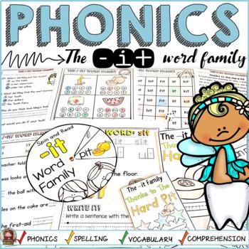 PHONICS: CVC SHORT VOWEL I: THE -IT WORD FAMILY