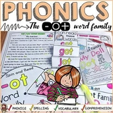 PHONICS: CVC SHORT VOWEL O: THE -OT WORD FAMILY