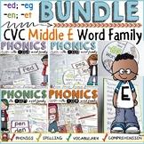 PHONICS: CVC WORD FAMILY BUNDLE: SHORT VOWEL E