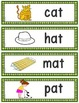 Word Families: CVC Phonics Sentence Strips Set 1 (Short A)