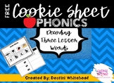 PHONICS Cookie Sheet Phonics / Interactive Binder (Three L