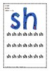 PHONICS Digraphs sh, ch, th. Initial and final sound worksheets ACTIVITY PACK