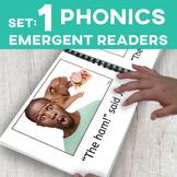 PHONICS Emergent Readers: Set 1 (13 Book Set)
