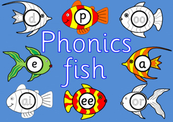 PHONICS FISH- Letters and Sounds