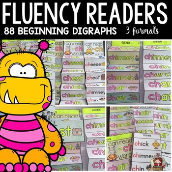 PHONICS: FLUENCY READERS: BEGINNING DIGRAPHS
