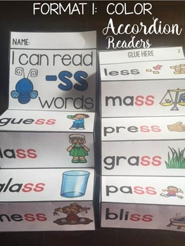 PHONICS: FLUENCY READERS: DOUBLE CONSONANTS